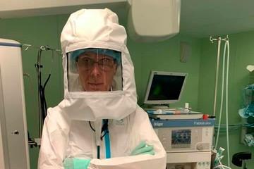Спасение найдено: Петербургский врач создал уникальный «шлем» с вентилятором для работы в «красной зоне»