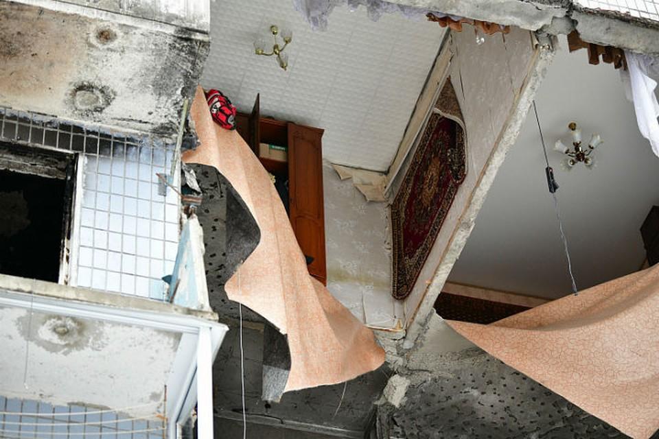 В доме на Батова в Ярославле начались противоаварийные работы