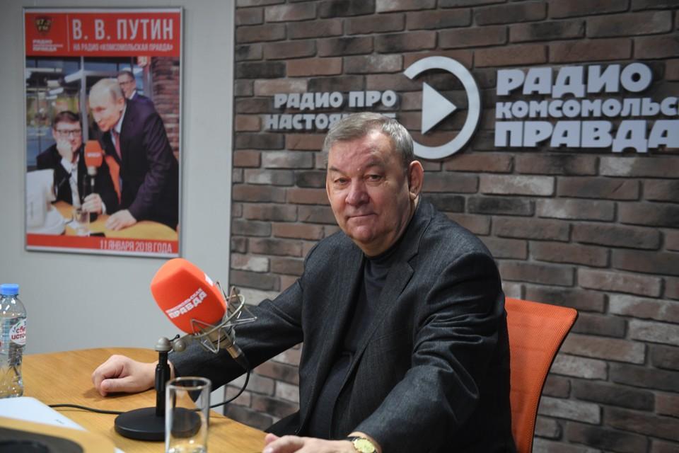 Генеральный директор Большого театра Владимир Урин в прямом эфире программы «What's up, страна!» радио «Комсомольская правда»