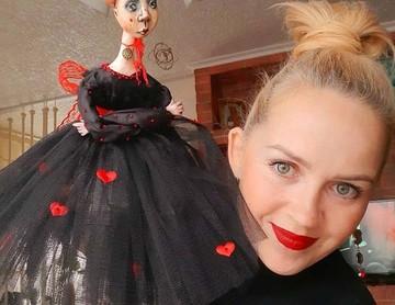 Недетские игрушки: оригинальные куклы ручной работы создает мастерица из ЕАО