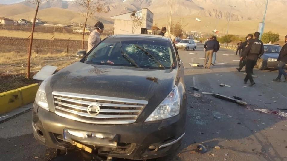 На месте убийства иранского физика-ядерщика нашли фрагменты израильского оружия