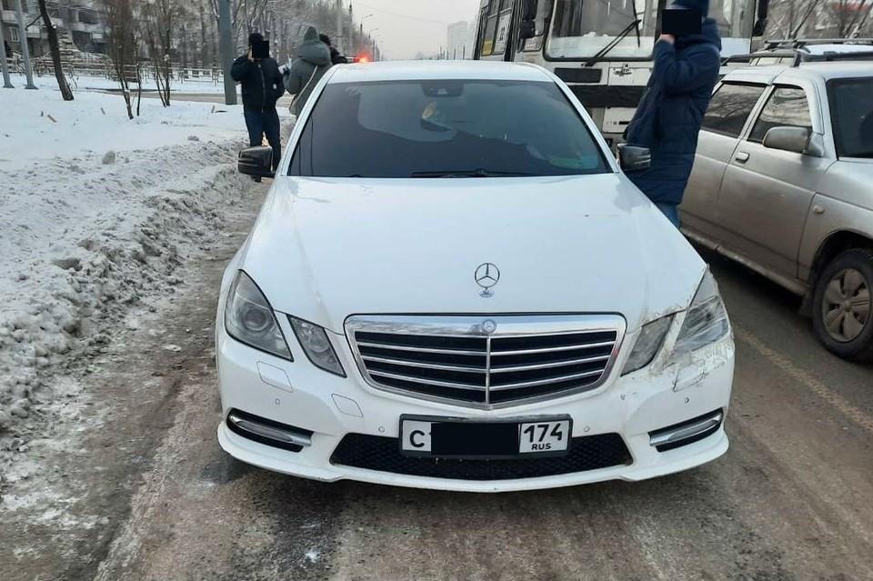 Машину передали на ответхранение. Фото: пресс-служба УФССП Челябинской области
