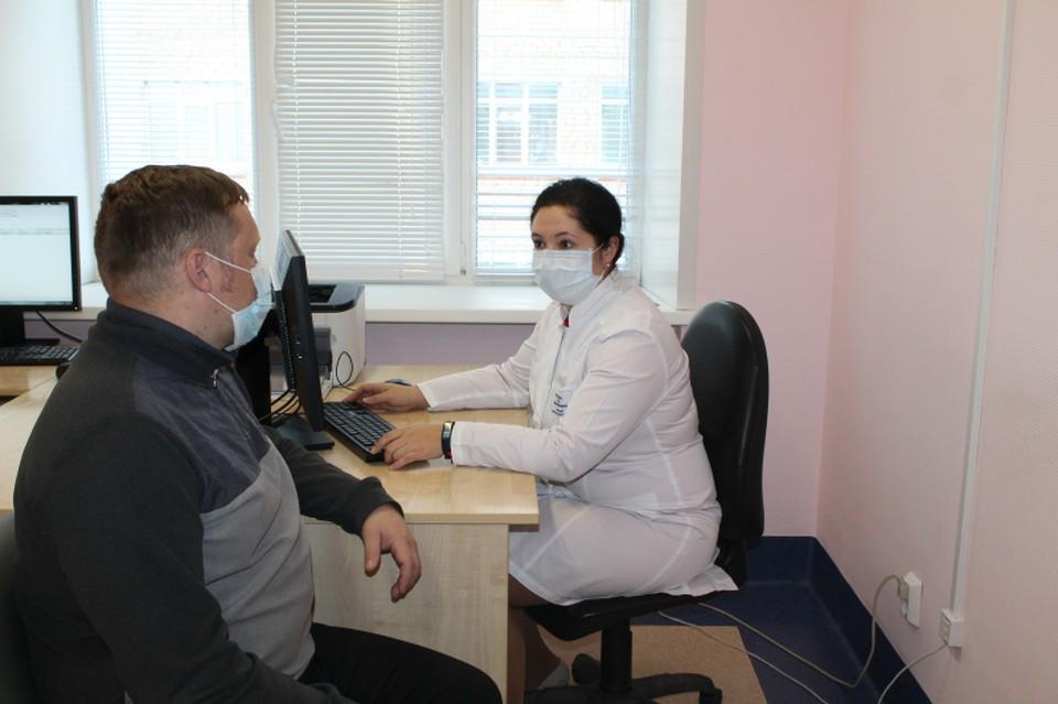 В Советском районе проводят реабилитацию пациентов после COVID-19 Фото: департамент здравоохранения ХМАО - Югры