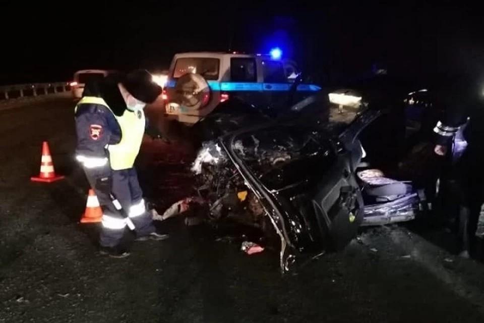 Авария произошла 4 декабря в 18.00 на 172-м километре дороги Екатеринбург - Серов. Фото: УГИБДД по Свердловской области