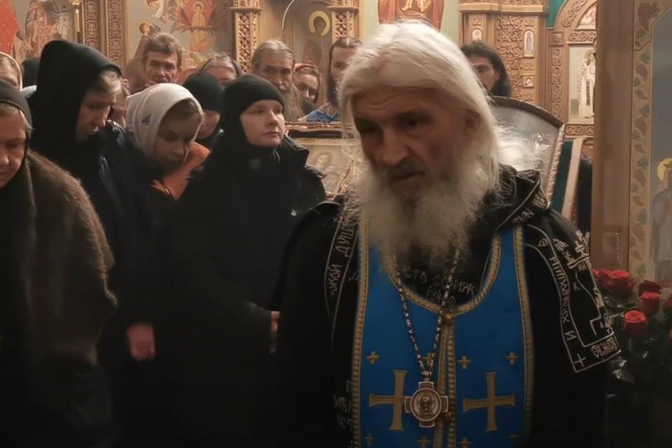 В октябре Сергия (Николай Романов) отлучили от Церкви. Фото: кадр с видеозаписи опубликованной Всеволодом Могучевым