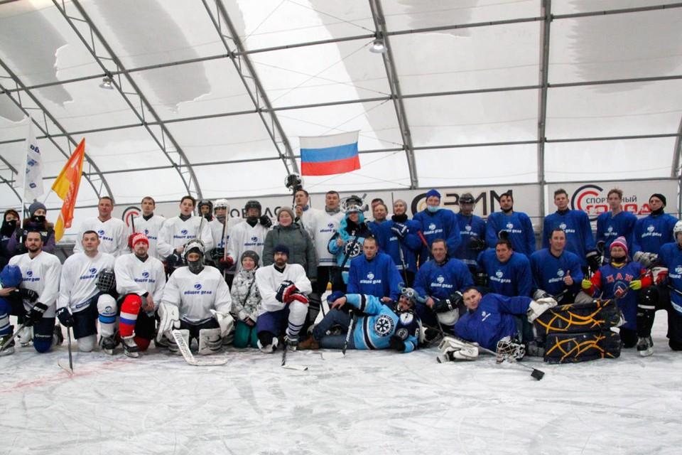 Товарищеский матч открыл сезон «Золотая шайба 2020/21».