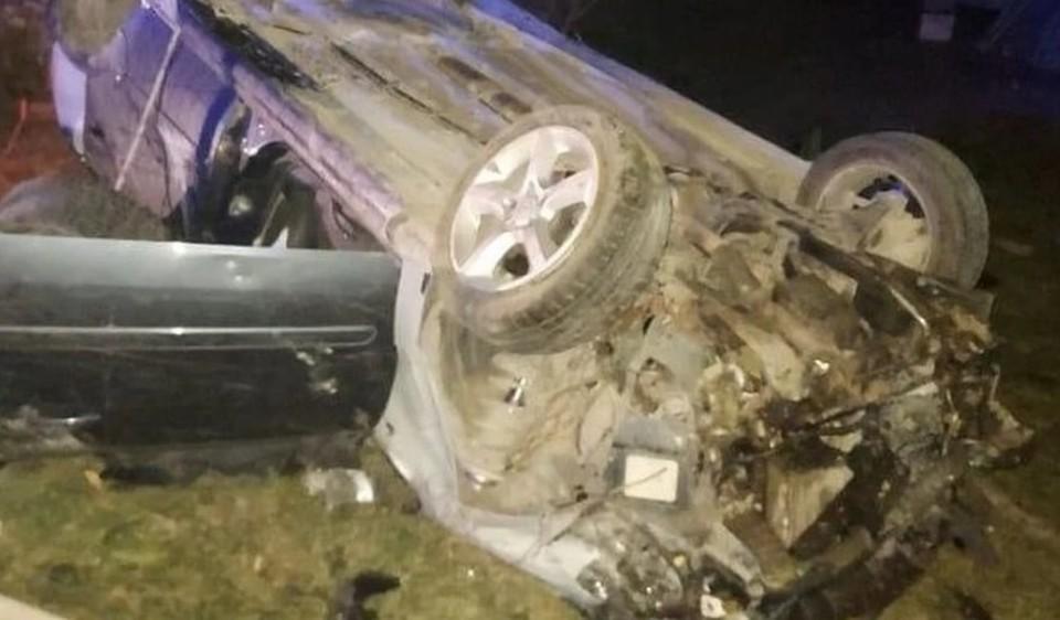 В аварии погибла пассажирка (Фото: полиция).
