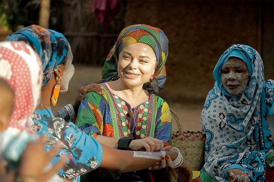 Наташа Королева уехала в Танзанию - на остров, где живут аборигены