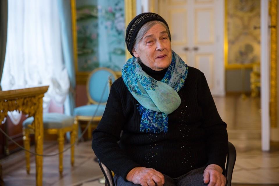 В Петербурге на 93-м году жизни умерла реставратор Раиса Слепушкина. Фото: Фото: vk.com/tsarskoe_selo_museum