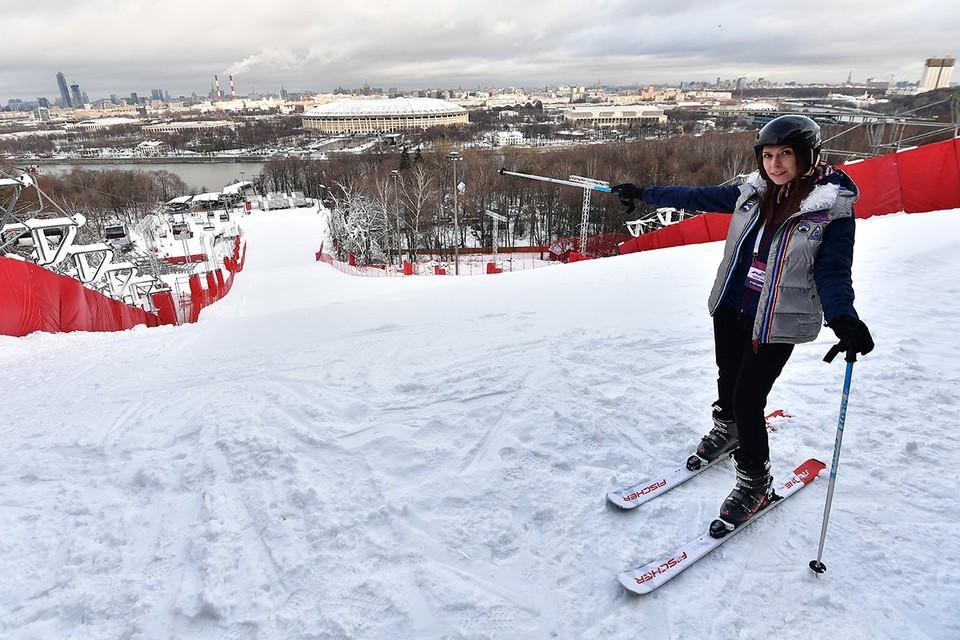 C 19 декабря откроется основной склон горнолыжного комплекса на Воробьевых горах.
