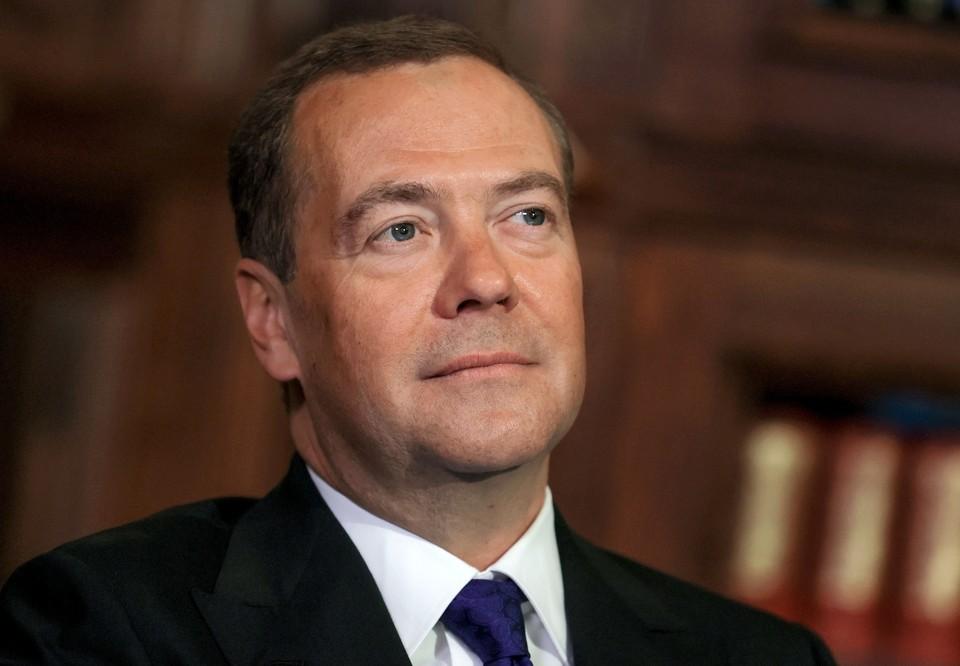 Дмитрий Медведев употребил в ходе совещания редкое словечко «разнотык». Фото: Екатерина Штукина/ТАСС