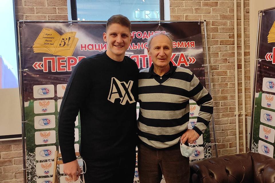 Игорь Дивеев (слева) и его первый тренер Валентин Климов