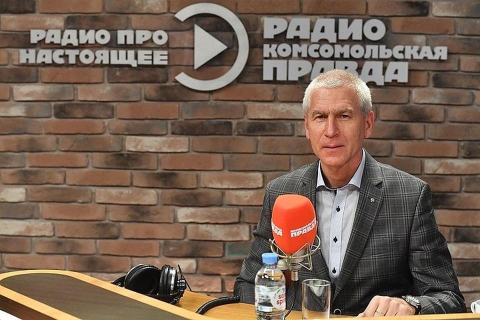 Министр спорта РФ Олег Матыцин.