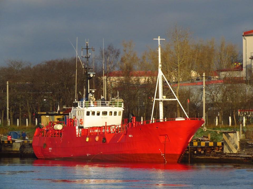 """Поиски пропавших членов экипажа """"Онеги"""" в Баренцевом море продолжается. Фото: Sander696   www.fleetmon.com"""