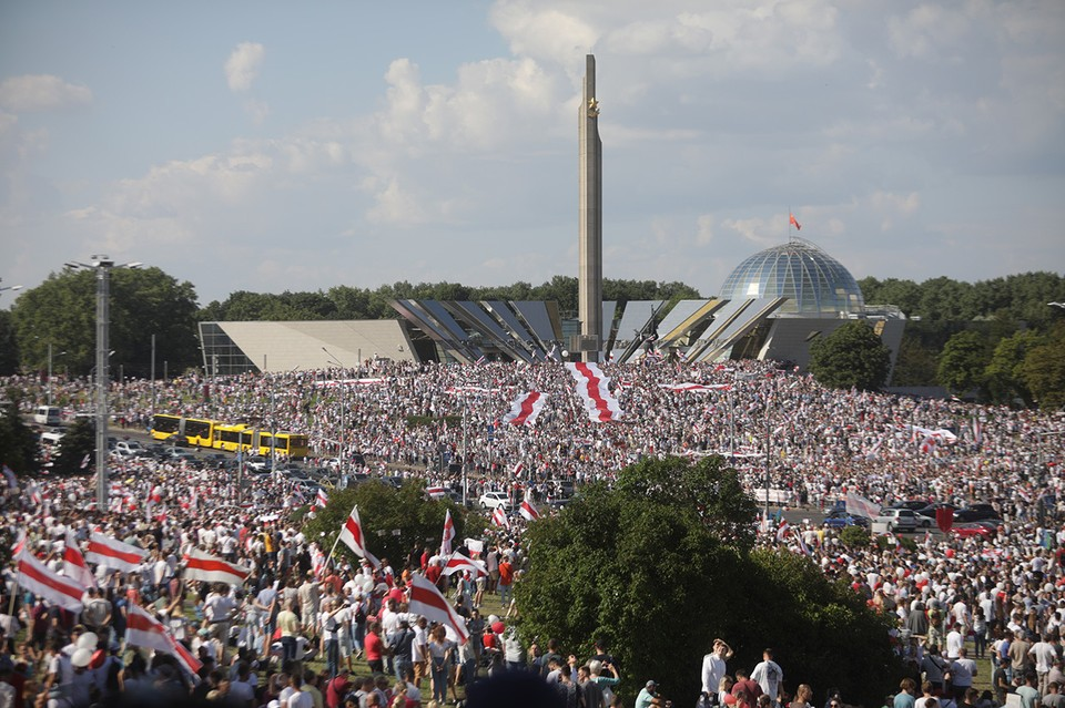 Марш Свободы в Минске.