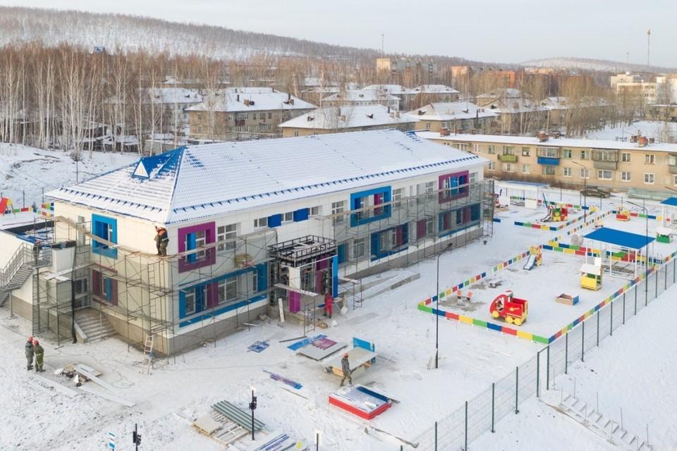 Новый детский сад в Карабаше скоро откроется после реконструкции.