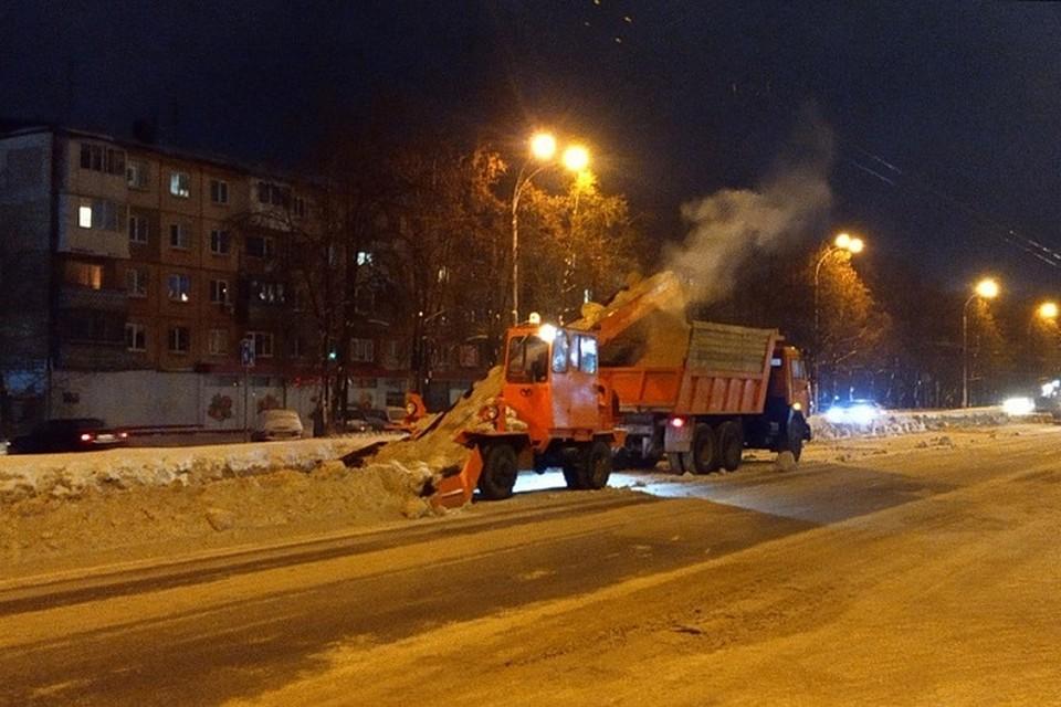 Дорожные службы Кемерова перейдут на круглосуточный режим работы в праздники. Фото: Администрация города Кемерово