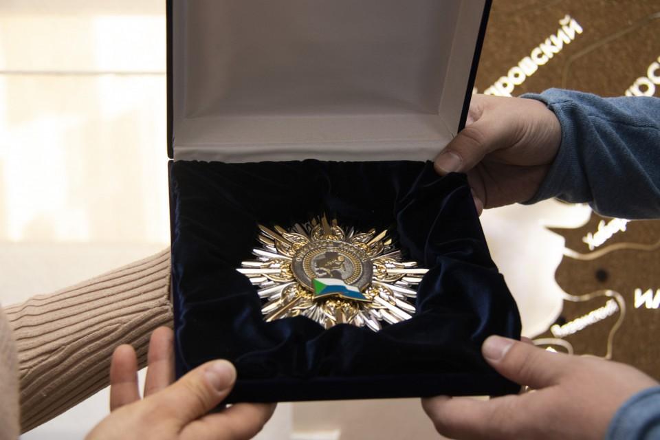 Церемония награждения почетным знаком губернатора «Открытое сердце» прошла в Хабаровском крае ФОТО: минобр Хабаровского края