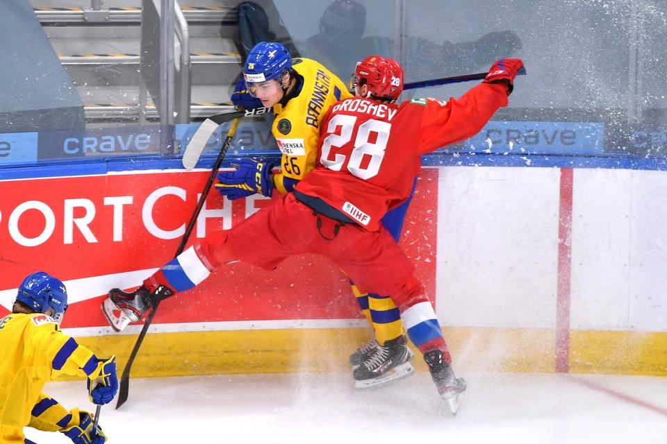 Россия провела последний матч в группе МЧМ-2021 против Швеции.