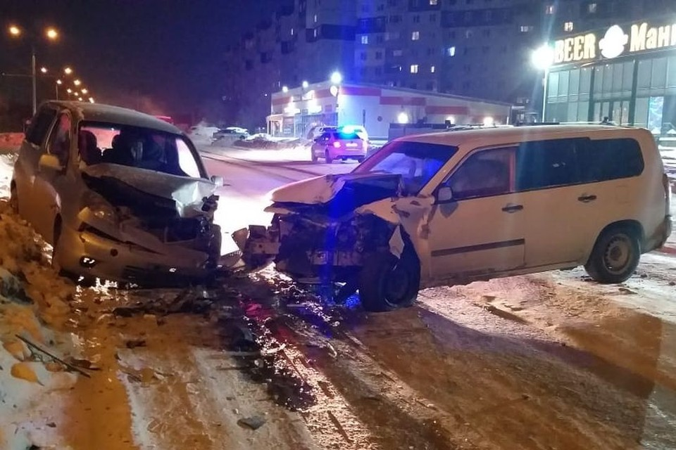 Авария произошла в самом начале нового года. Фото: ГИБДД Новосибирска.