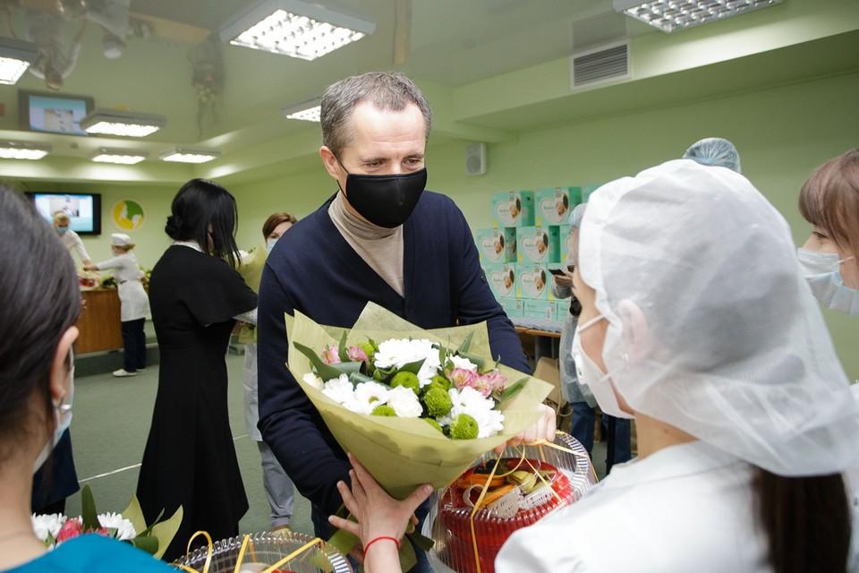 Фото пресс-службы губернатора и правительства Белгородской области.