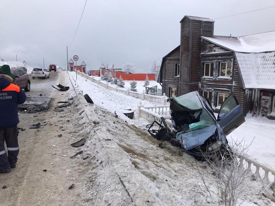В ДТП в Листвянке погиб 45-летний водитель «Хонды»
