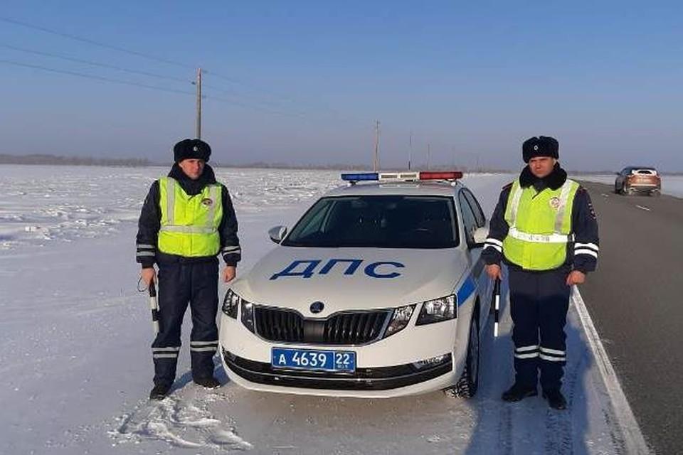 Полицейские, которые пришли на помощь.