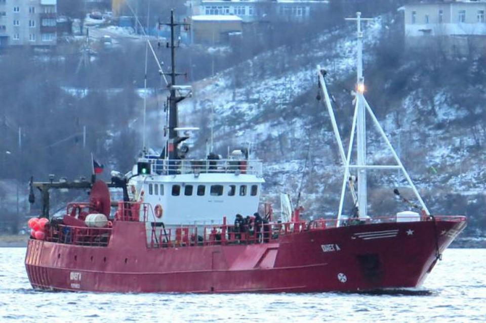 "Ярусолов ""Онега"" затонул 28 декабря 2020 года. Фото: www.korabel.ru"