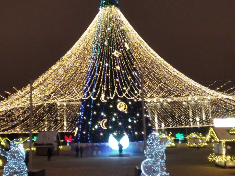 В Белгороде на Соборной площади состоится рождественский концерт.