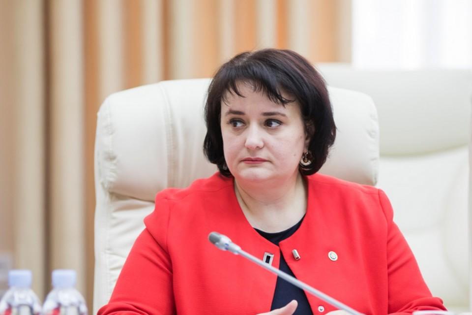 Экс-министр здравоохранения Молдовы Виорика Думбрэвяну.