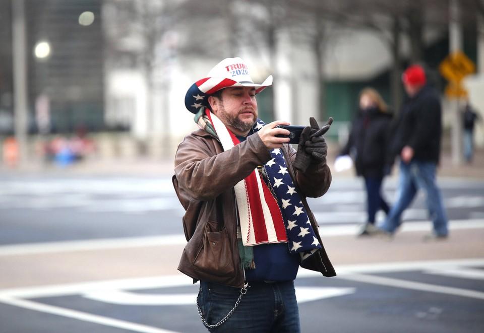 В Вашингтоне продлен режим ЧС на 15 дней - до дня инаугурации президента США.