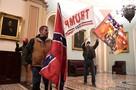 Как выглядит Капитолий после штурма: фото и видео хаоса в Конгрессе США