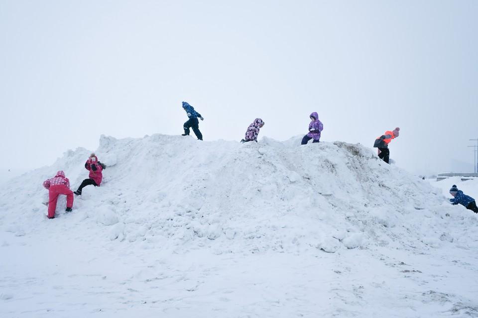 В Ленобласть идут морозы до -22 градусов.