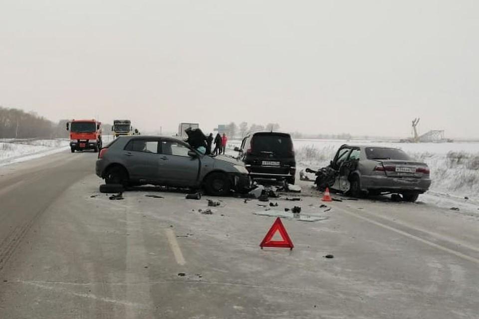 Трое детей попали в больницу. Фото: пресс-служба ГУ МВД по Новосибирской области