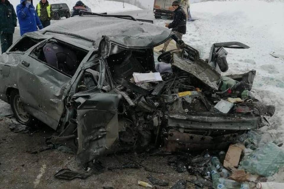 Под Вольском случилась смертельная авария