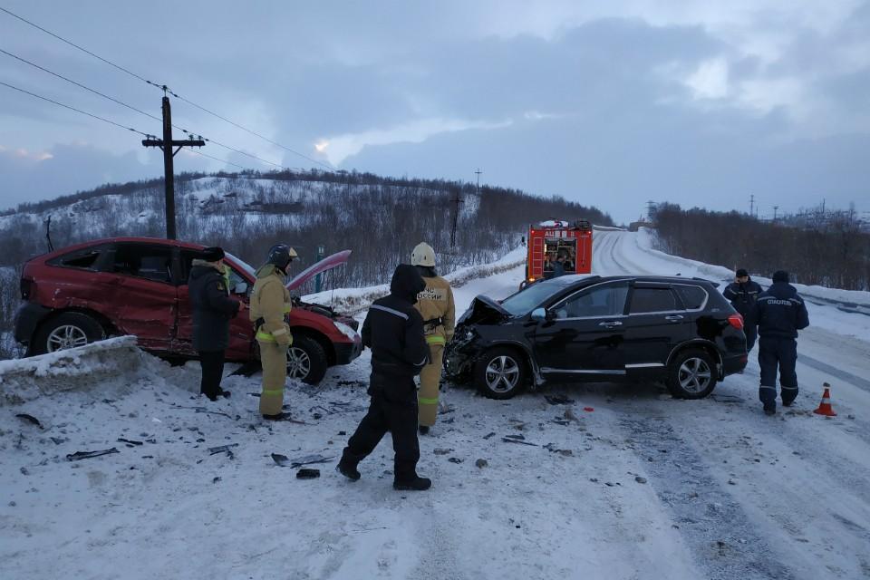 Авария произошла днем 10 января. Фото: пресс-служба ГУ МЧС по МО