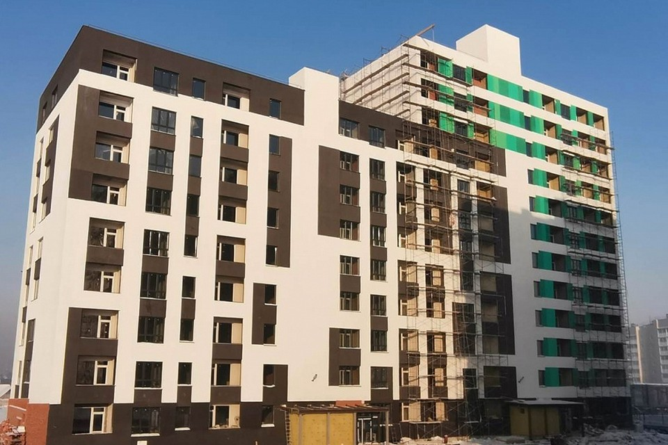 44 многоквартирных дома будет построено в Кемерове в 2021 году. Фото: Администрация города Кемерово