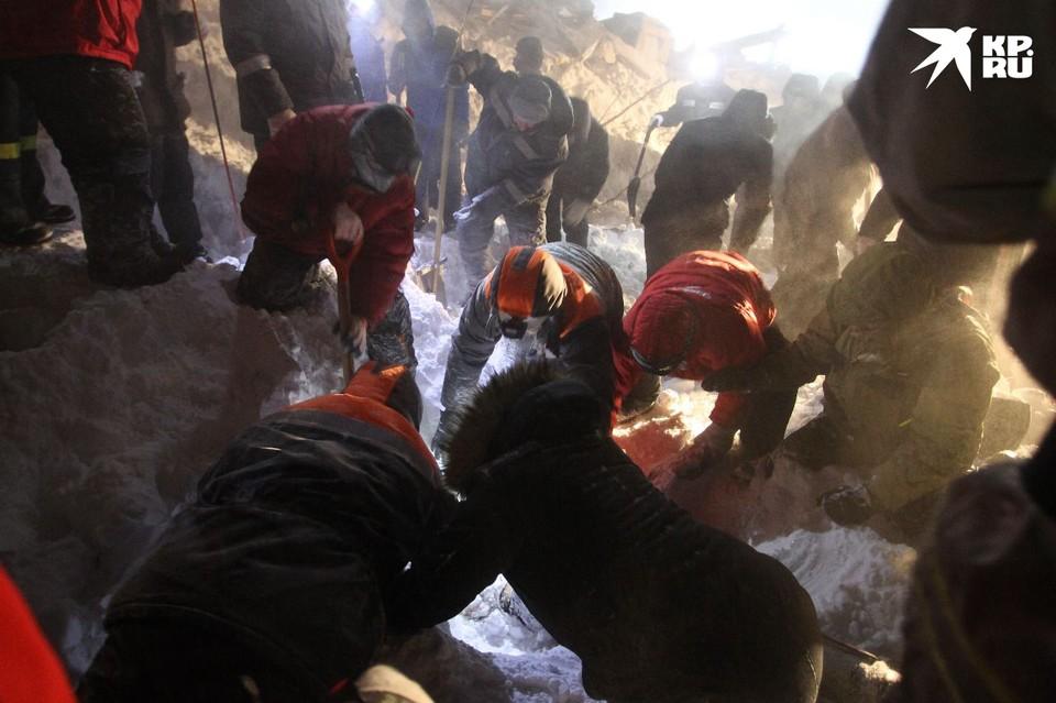 Пострадавшего при сходе лавины в Норильске подростка перевели из реанимации. Фото: Ирина ЯРИНСКАЯ