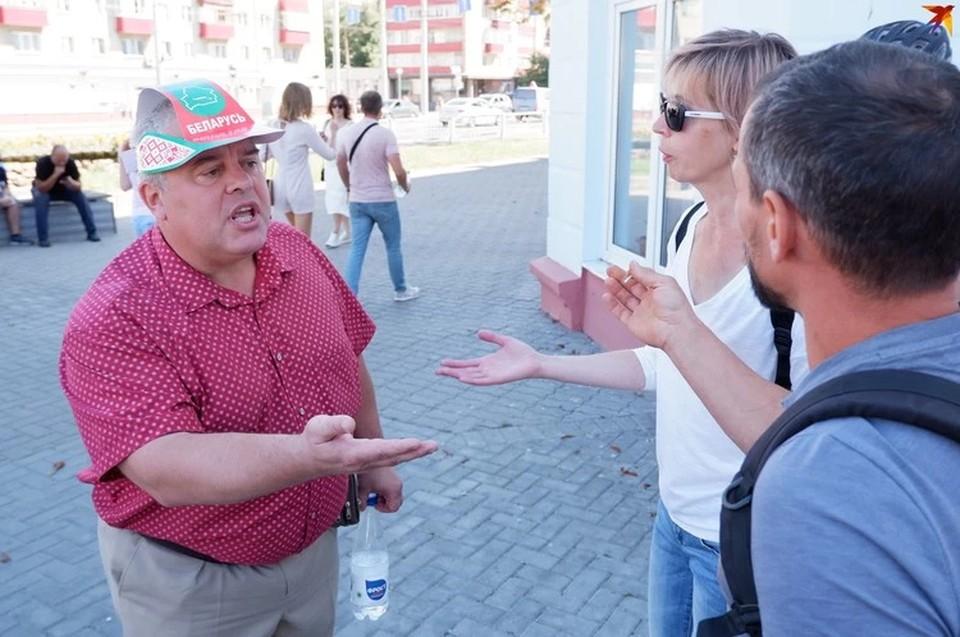 Гомельский военком стал знаменитым в городе после активного участия в провластных митингах