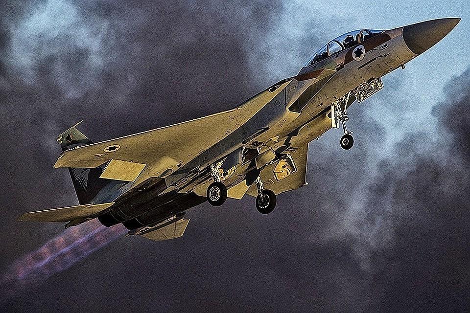 Израильские ВВС нанесли авиаудары по территории Сирии