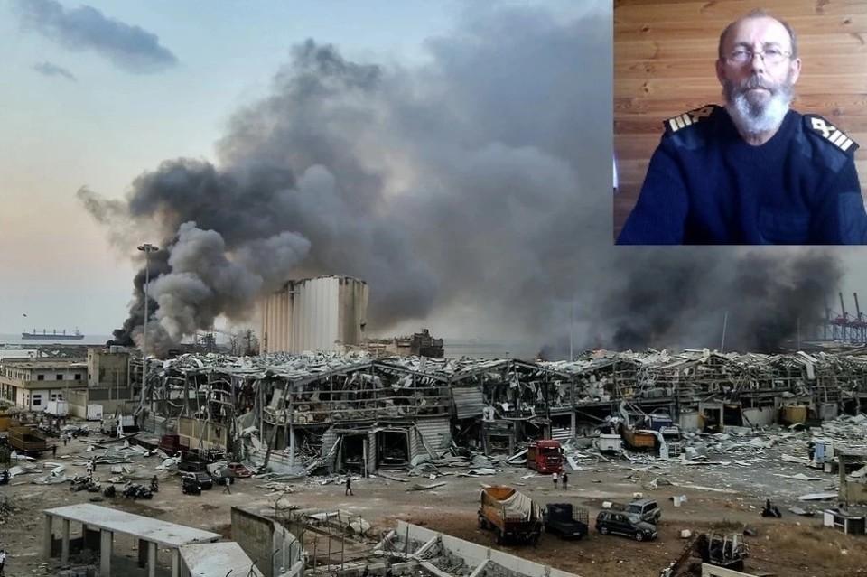 «Нашли козлов отпущения»: Экс-капитан судна Rhosus возмущен тем, что Интерпол объявил его в розыск из-за взрыва в Бейруте