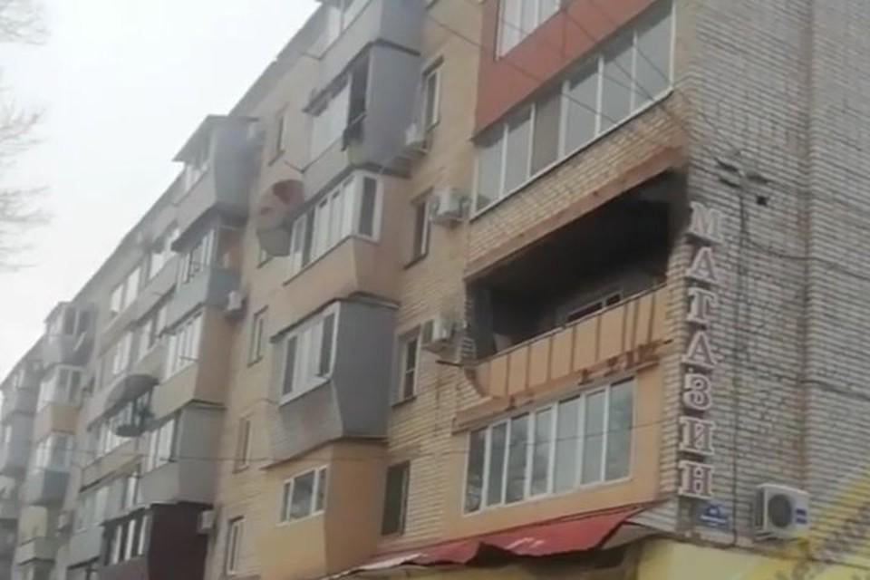 В многоэтажке Уссурийска произошел пожар