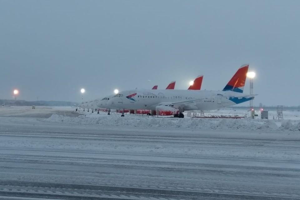 Аэропорт предварительно закрыт до 11 часов 15 января