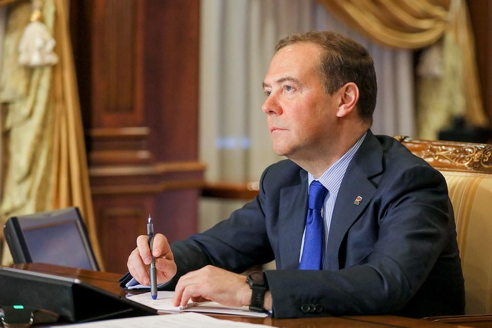 Дмитрий Медведев написал для ТАСС статью «Америка 2.0. После выборов». Фото: Екатерина Штукина/POOL/ТАСС