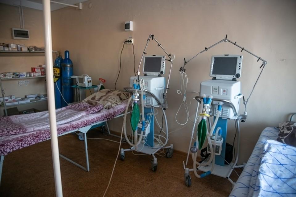 В ноябре Башкирия развернула 6,5 тысячи коек инфекционного профиля