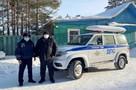 Остался в заглохшей машине на 30-градусном морозе: полицейские из Бурятии спасли водителя из снежного плена