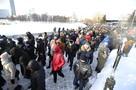 Несанкционированная акция в центре Екатеринбурга: фото