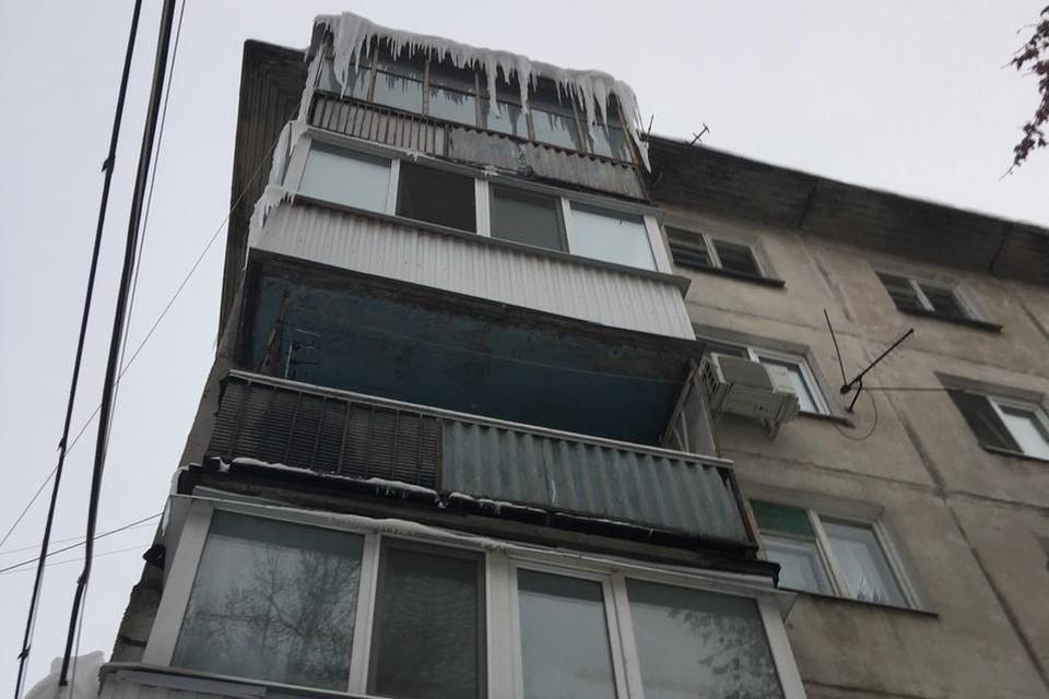 В Саратове упавшая с крыши пятиэтажки сосулька убила 12-летнего мальчика