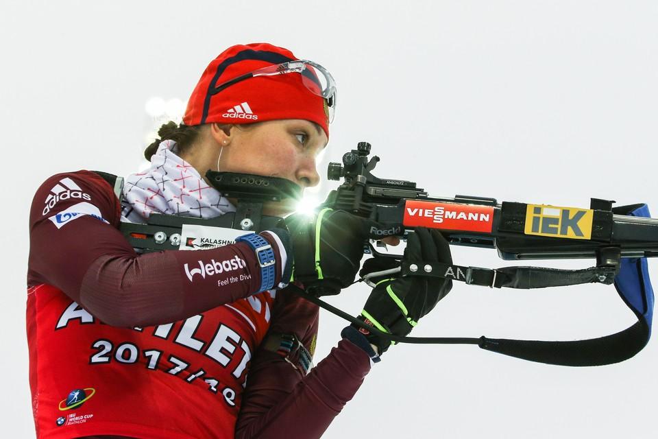Ульяна Кайшева стреляла более спокойно. Фото: Михаил Терещенко/ТАСС