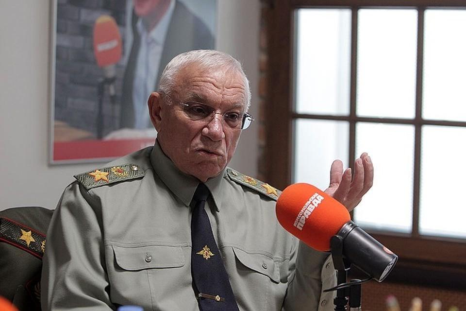 Анатолий Куликов, генерал армии: Погибших нет, оружие не применялось, витрины не разбиты - значит, полиция и Росгвардия задачу выполнили